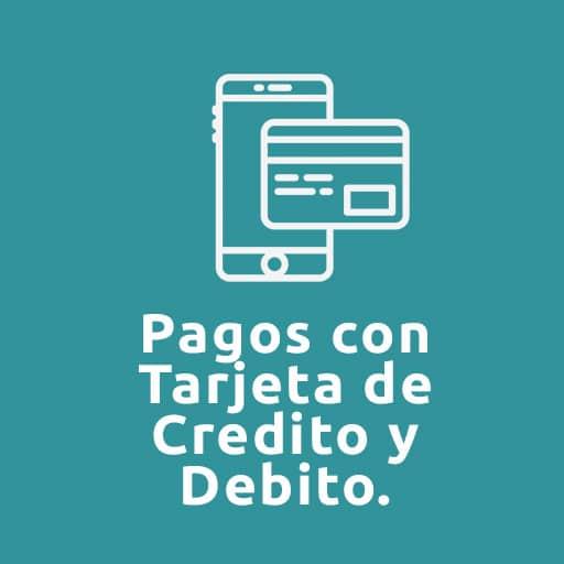 Clientes: Pago con tarjeta debito y credito
